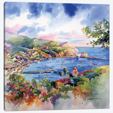 Avalon Catalina Canvas Print #BDR1} by Bill Drysdale Canvas Art Print