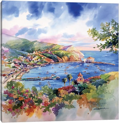 Avalon Catalina Canvas Art Print