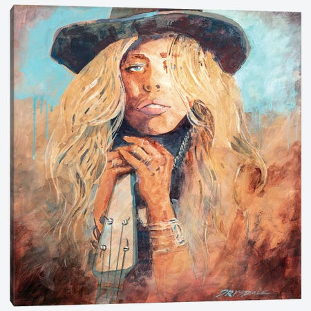 Honky Tonk Woman Canvas Print #BDR20} by Bill Drysdale Canvas Art