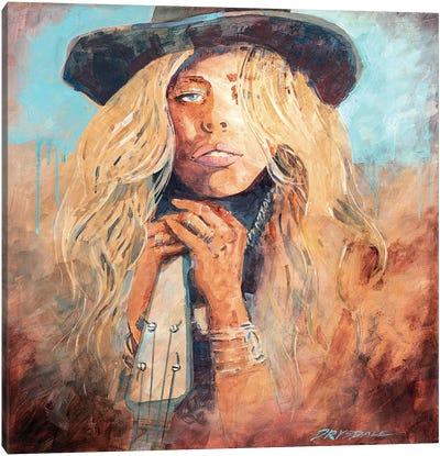 Honky Tonk Woman Canvas Art Print