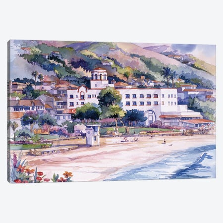 Hotel Laguna Canvas Print #BDR22} by Bill Drysdale Canvas Artwork