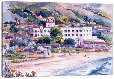 Hotel Laguna Canvas Art Print