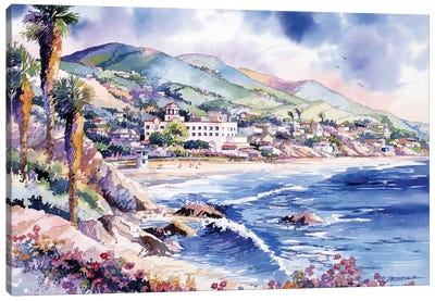 Laguna Coast Canvas Art Print