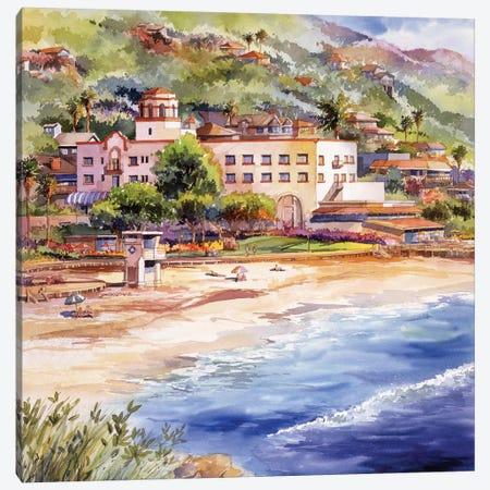 Laguna Main Beach Canvas Print #BDR26} by Bill Drysdale Canvas Print