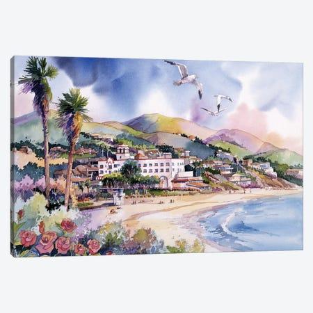 Laguna Roses Canvas Print #BDR27} by Bill Drysdale Art Print