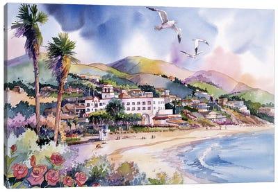 Laguna Roses Canvas Art Print