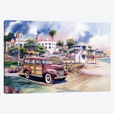 Laguna Woodie Canvas Print #BDR28} by Bill Drysdale Canvas Artwork