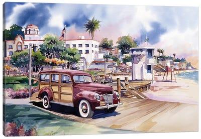 Laguna Woodie Canvas Art Print