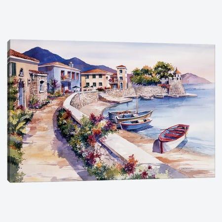 Nafpaktos Greece Canvas Print #BDR33} by Bill Drysdale Art Print
