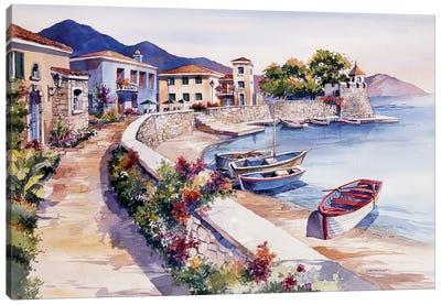 Nafpaktos Greece Canvas Art Print