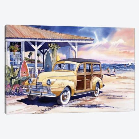 North Shore Canvas Print #BDR34} by Bill Drysdale Canvas Artwork