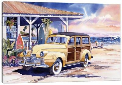 North Shore Canvas Art Print