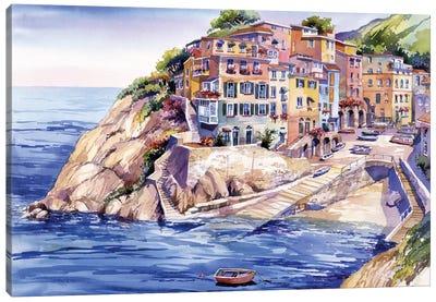 Riomaggiore Italy Canvas Art Print