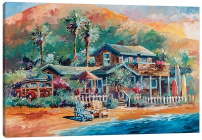 Beaches Canvas Art Print