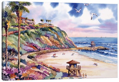 Salt Creek Beach Canvas Art Print