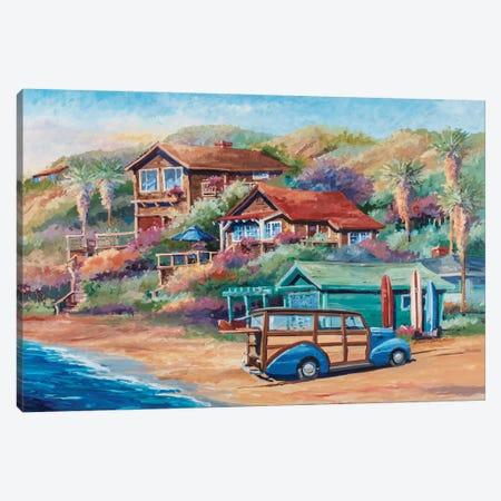 Surf Buggy Canvas Print #BDR43} by Bill Drysdale Canvas Artwork