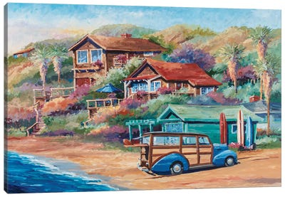 Surf Buggy Canvas Art Print