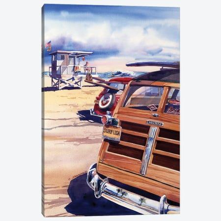 Surf USA Canvas Print #BDR45} by Bill Drysdale Canvas Art Print