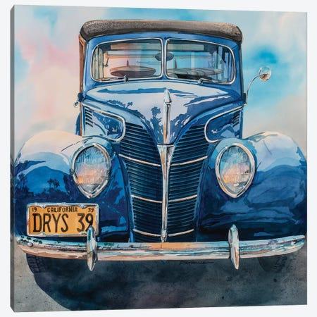 Surfin Woodie 3-Piece Canvas #BDR49} by Bill Drysdale Canvas Wall Art