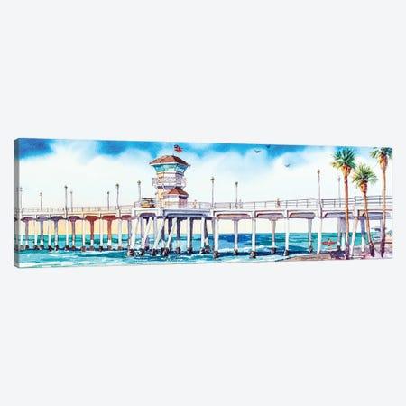 HB Pier 3-Piece Canvas #BDR64} by Bill Drysdale Art Print