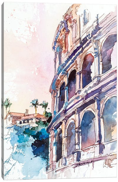 Roman Colosseum Canvas Art Print