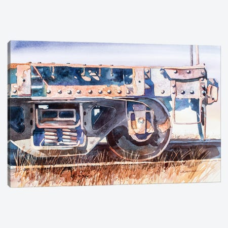 Rusted Relic Canvas Print #BDR69} by Bill Drysdale Canvas Artwork