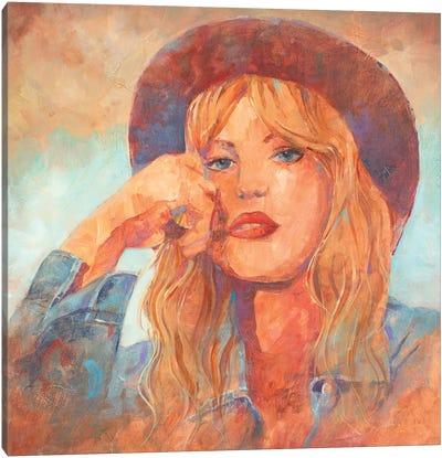 Singer Songwriter Canvas Art Print