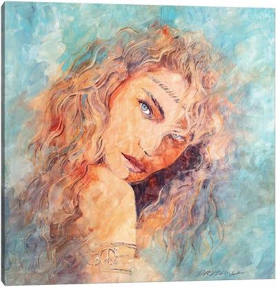 Coachella Girl Canvas Art Print