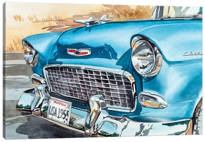 Cool 55 Canvas Art Print