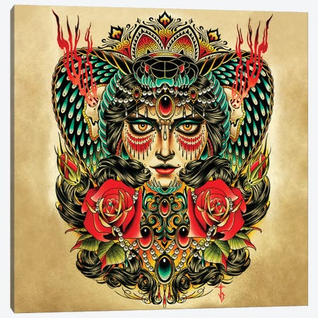 Hypnotic Canvas Print #BDW12} by Tyler Bredeweg Canvas Wall Art