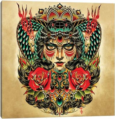 Hypnotic Canvas Art Print