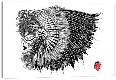Native Canvas Art Print