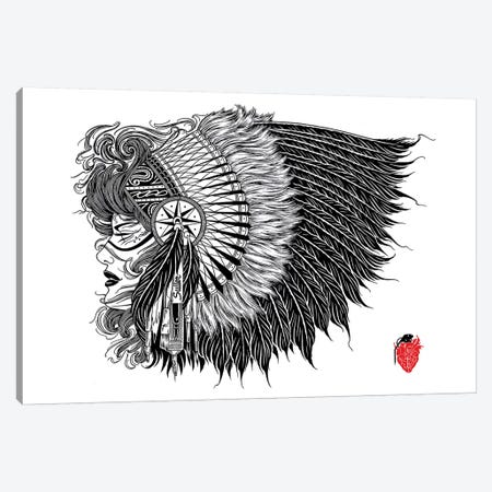 Native Canvas Print #BDW15} by Tyler Bredeweg Canvas Art Print