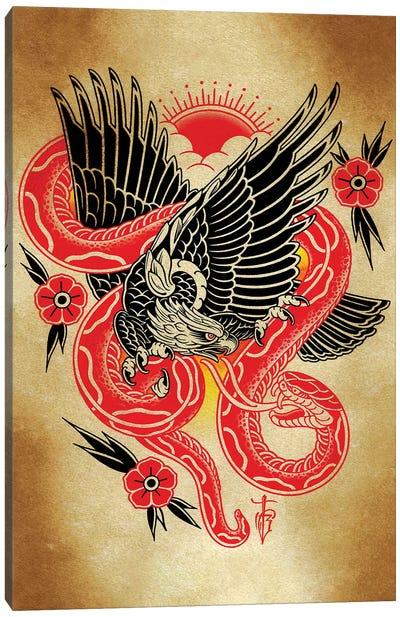 Snake Canvas Art Print