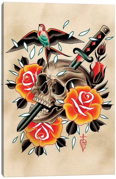 Spar Canvas Art Print