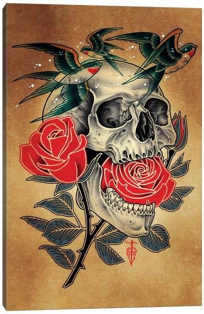 Swallow Canvas Art Print