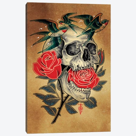 Swallow Canvas Print #BDW21} by Tyler Bredeweg Canvas Print