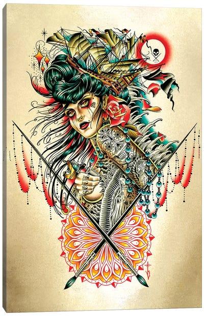 Voy Canvas Art Print
