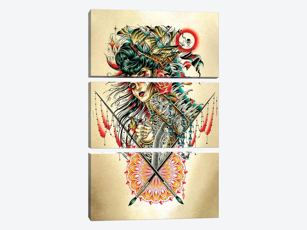 Voy by Tyler Bredeweg 3-piece Canvas Wall Art