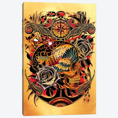 Course Canvas Print #BDW3} by Tyler Bredeweg Canvas Art