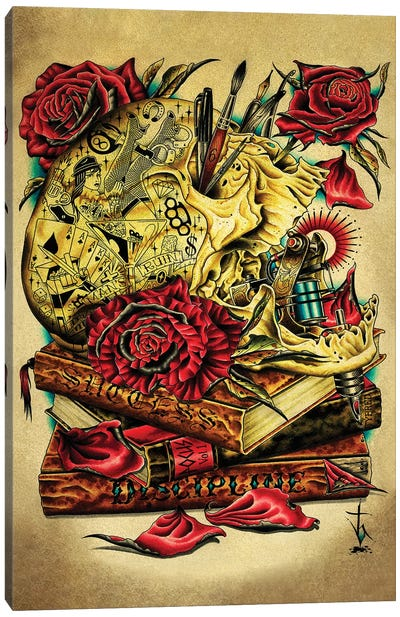 Craft Canvas Art Print