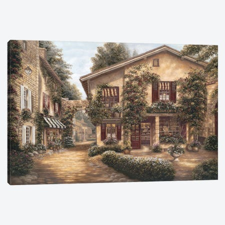 Boulangerie Canvas Print #BEB5} by Betsy Brown Canvas Wall Art