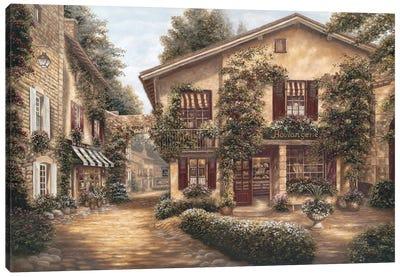 Boulangerie Canvas Art Print