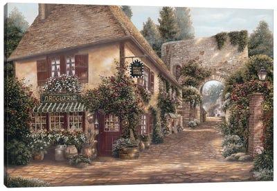 Ruelle Saint Amant Canvas Art Print