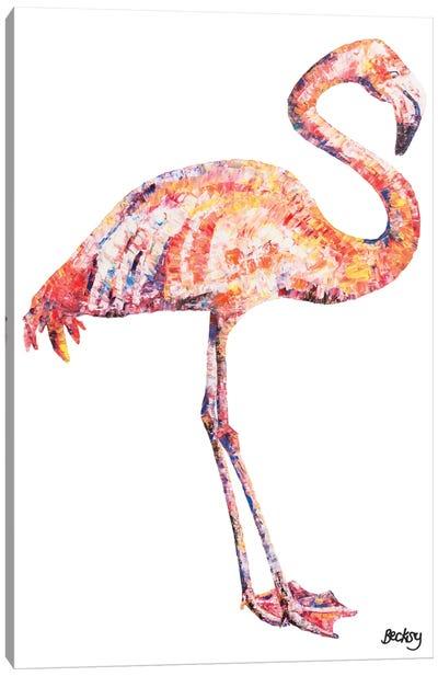 Flamingo Canvas Print #BEC12