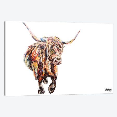 Fraser's Coo Canvas Print #BEC15} by Becksy Canvas Wall Art