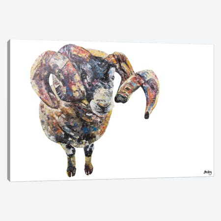 Goseland 3-Piece Canvas #BEC18} by Becksy Art Print