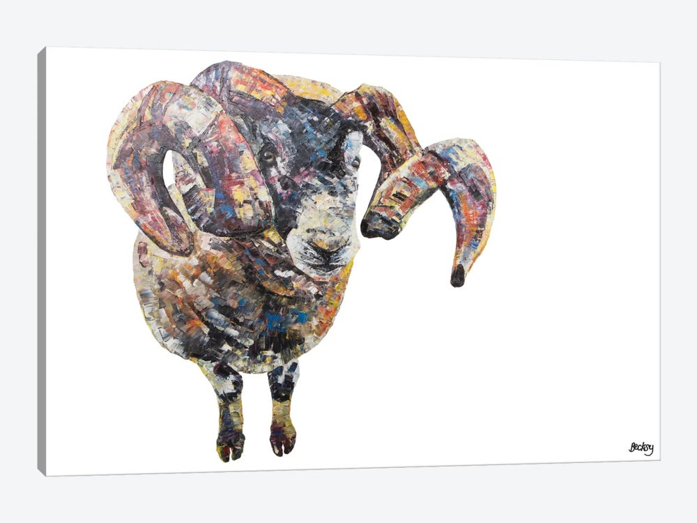 Goseland by Becksy 1-piece Canvas Art Print