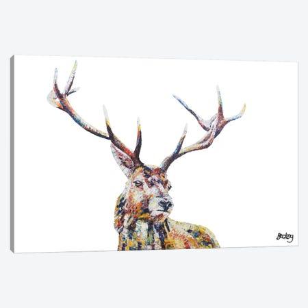 Hamish Canvas Print #BEC19} by Becksy Art Print