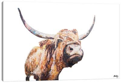 Isla Canvas Art Print